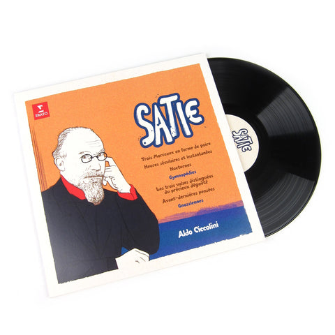 Aldo Ciccolini: Eric Satie - Gymnopedies / Gnossiennes Vinyl LP (Record Store Day)
