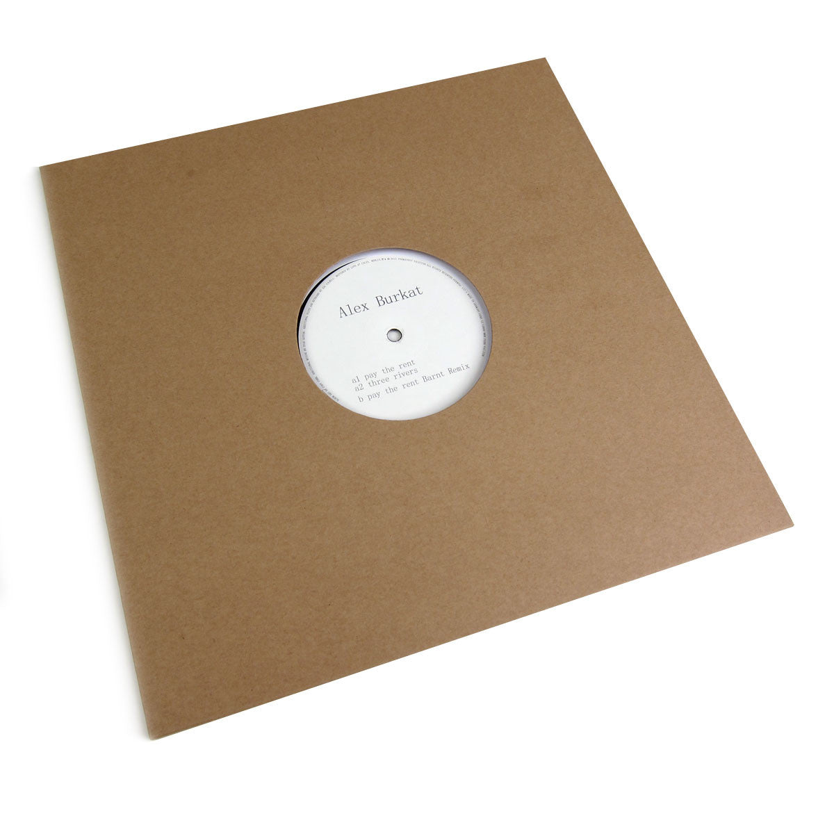 Alex Burkat: Pay The Rent (Barnt) Vinyl 12""