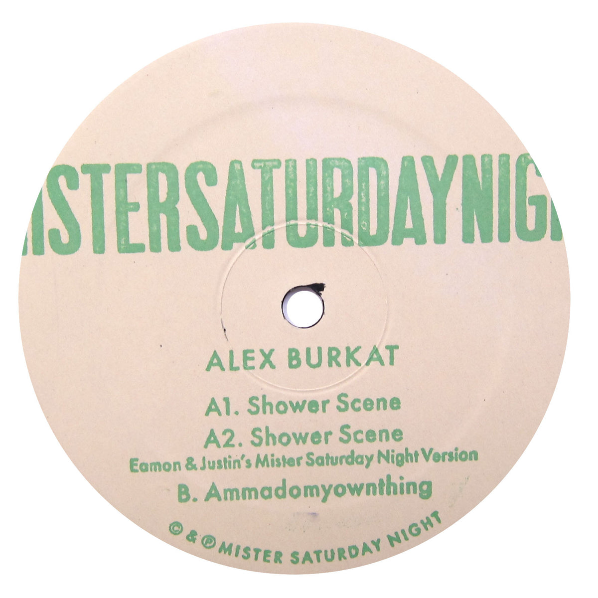 "Alex Burkat: Shower Scene 12"" 2"