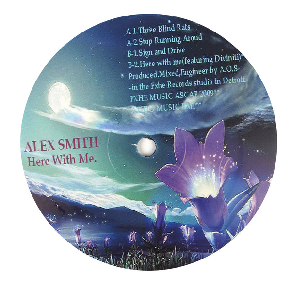 Alex Smith: Here With Me. (Omar-S) Vinyl 12""