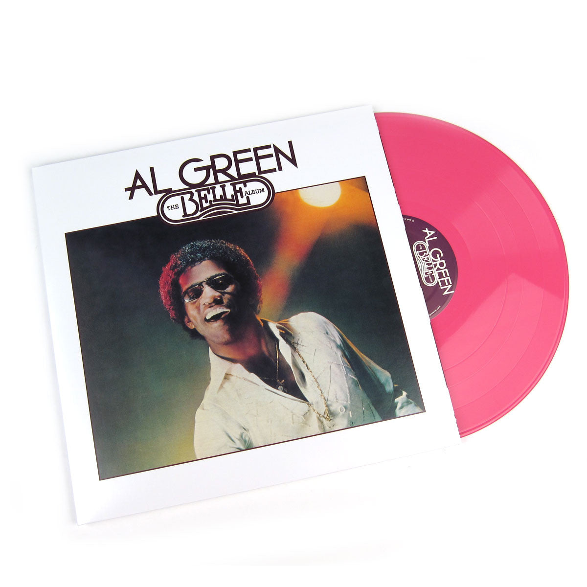 Al Green: The Belle Album (Colored Vinyl) Pink Vinyl LP