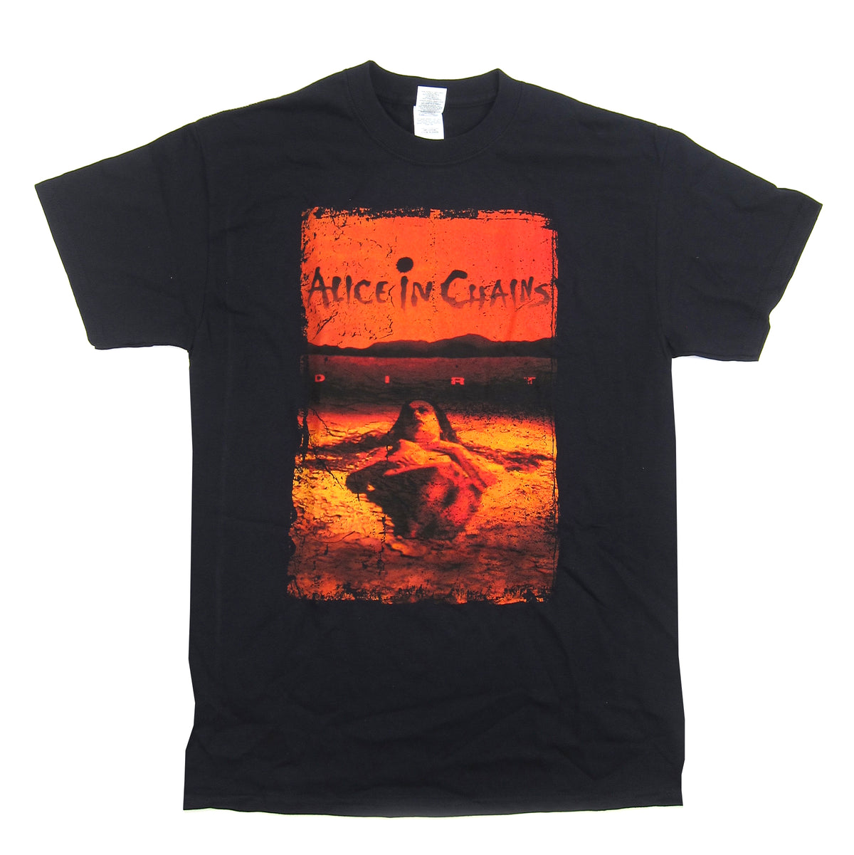 Alice In Chains: Dirt Album Cover Shirt - Black