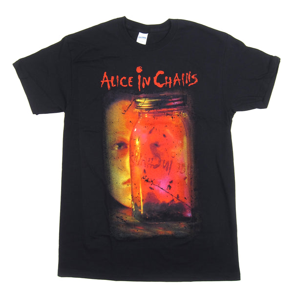 Alice In Chains: Jar Of Flies Shirt - Black