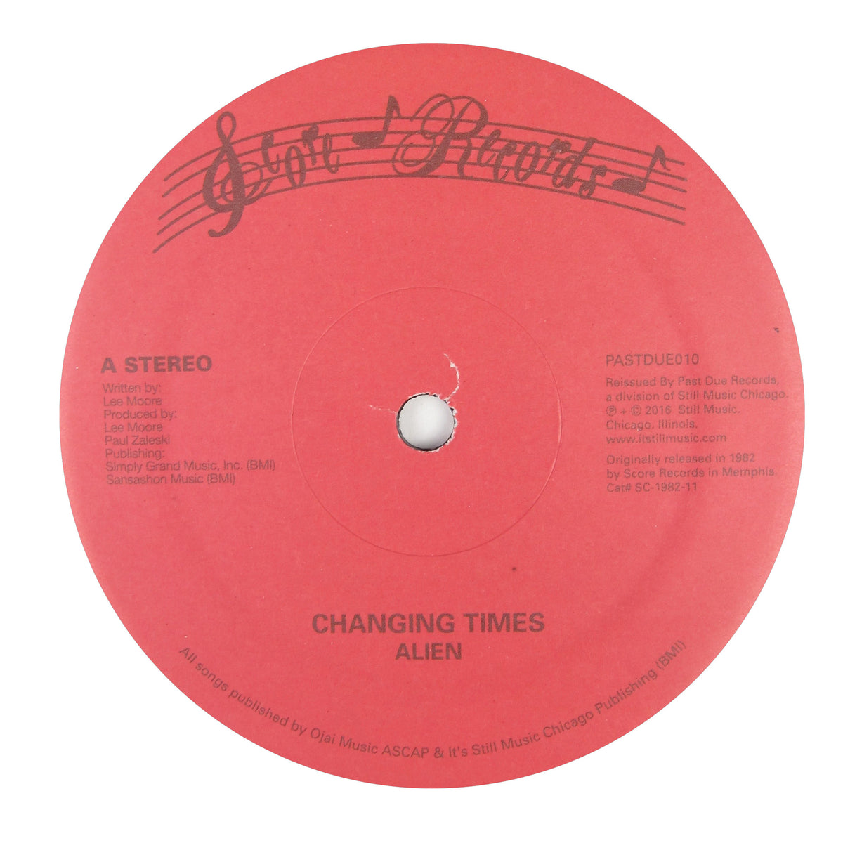 Alien: Changing Times Vinyl 12""
