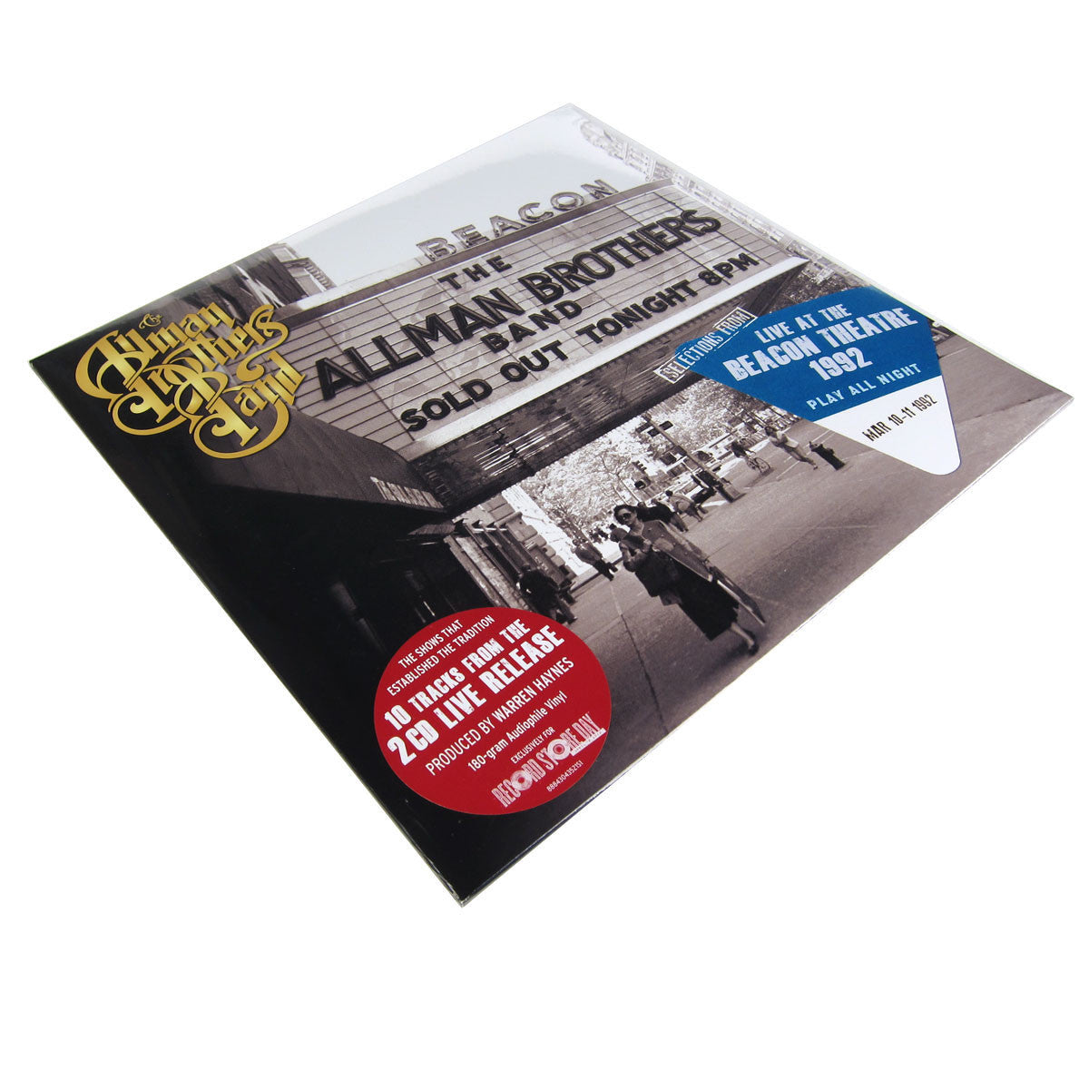 Allman Brothers: Selections From Play All Night: Live At The Beacon Theatre 1992 Vinyl 2LP (Record Store Day 2014)
