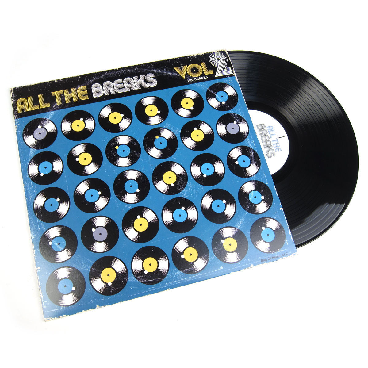 All The Breaks:  Vol. 2 Vinyl LP