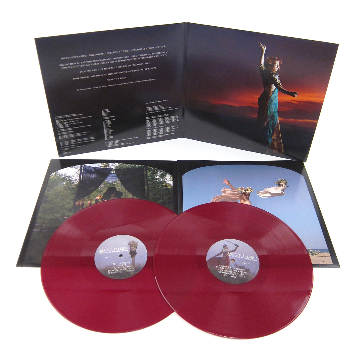 Amanda Palmer: There Will Be No Intermission (Indie Exclusive Colored Vinyl) Vinyl LP