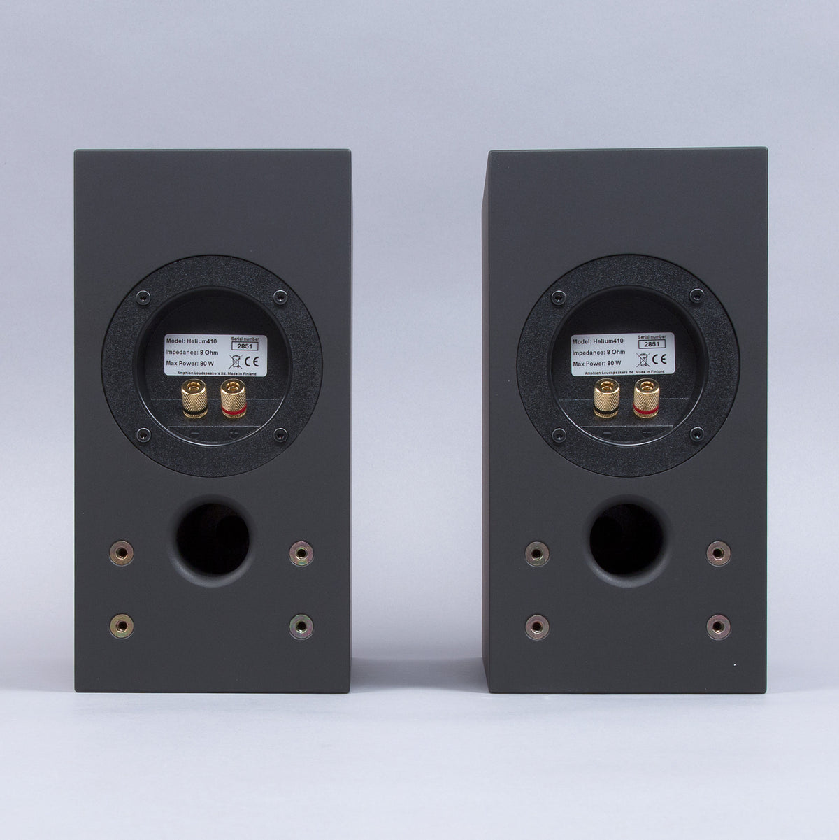 Amphion: Helium410 Loudspeaker - Black (Pair)