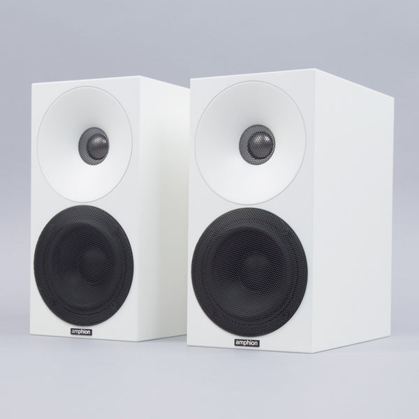 Amphion: Helium410 Loudspeaker - Full White / Black Grids (Pair)