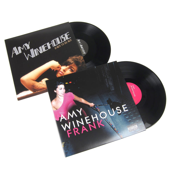 Amy Winehouse: Vinyl LP Album Pack (Frank, Back In Black)