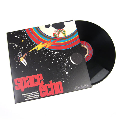 Analog Africa: Space Echo - The Mystery Behind The Cosmic Sound Of Cabo Verde Finally Revealed! Vinyl 2LP