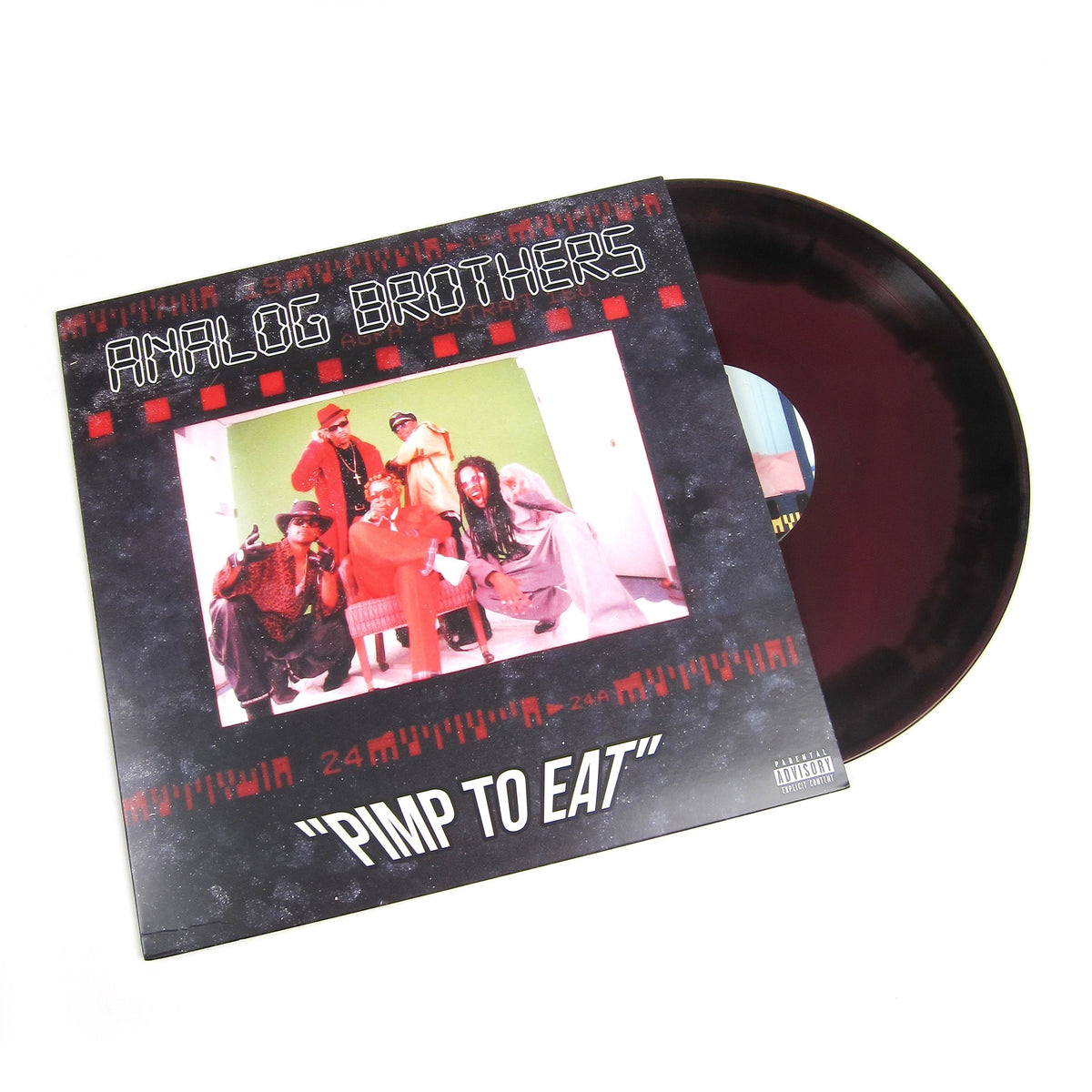 Analog Brothers: Pimp To Eat (Kool Keith & Ice-T, Colored Vinyl) Vinyl 2LP