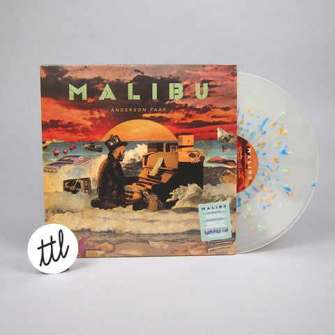 Anderson .Paak: Malibu (Clear Splatter Colored Vinyl) Vinyl 2LP - TTL Exclusive