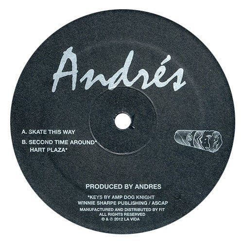 Andres: Second Time Around Vinyl 12""
