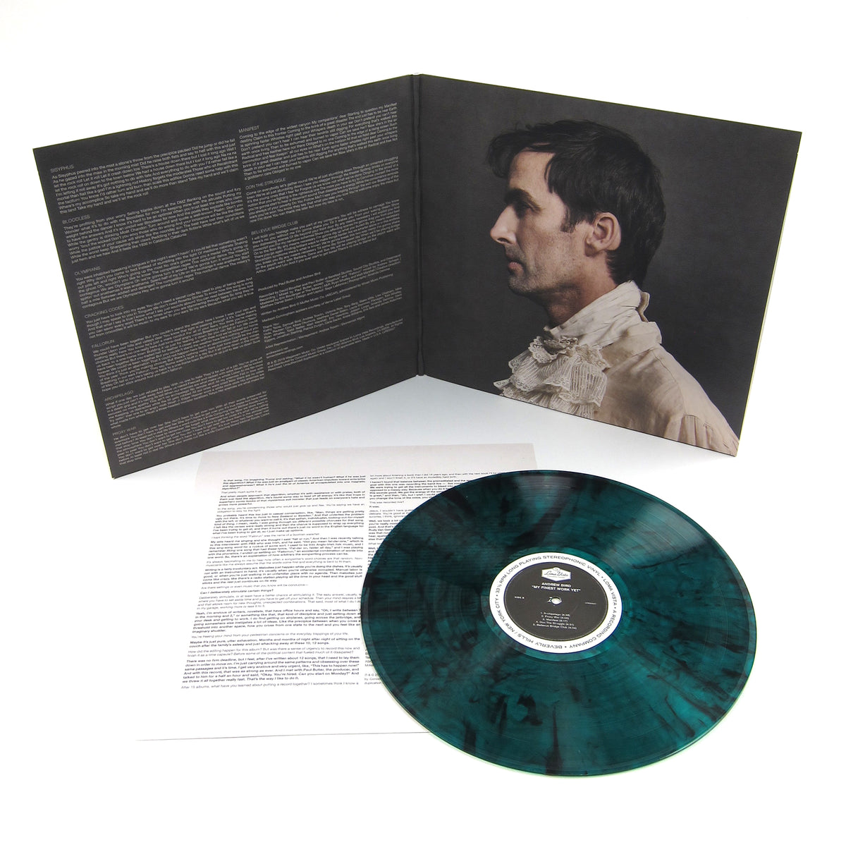 Andrew Bird: My Finest Work Yet (Indie Exclusive Colored Vinyl) Vinyl LP