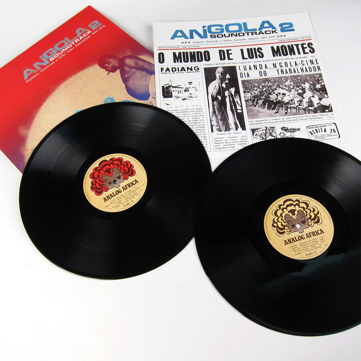 Analog Africa: Angola 2 Soundtrack Hypnosis, Distortion & Other Sonic Innovations 1969-1978 2LP details