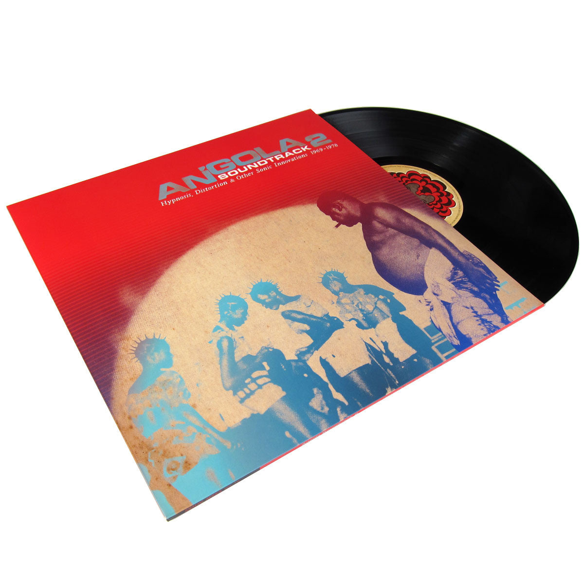 Analog Africa: Angola 2 Soundtrack Hypnosis, Distortion & Other Sonic Innovations 1969-1978 2LP