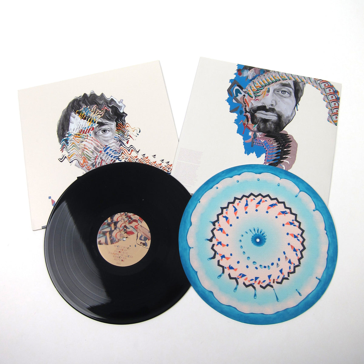 Animal Collective: Painting With Vinyl LP + Free Zoetropic Slipmat