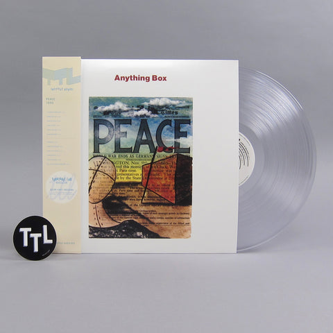Anything Box: Peace (Clear Colored Vinyl) Vinyl LP - Turntable Lab Exclusive