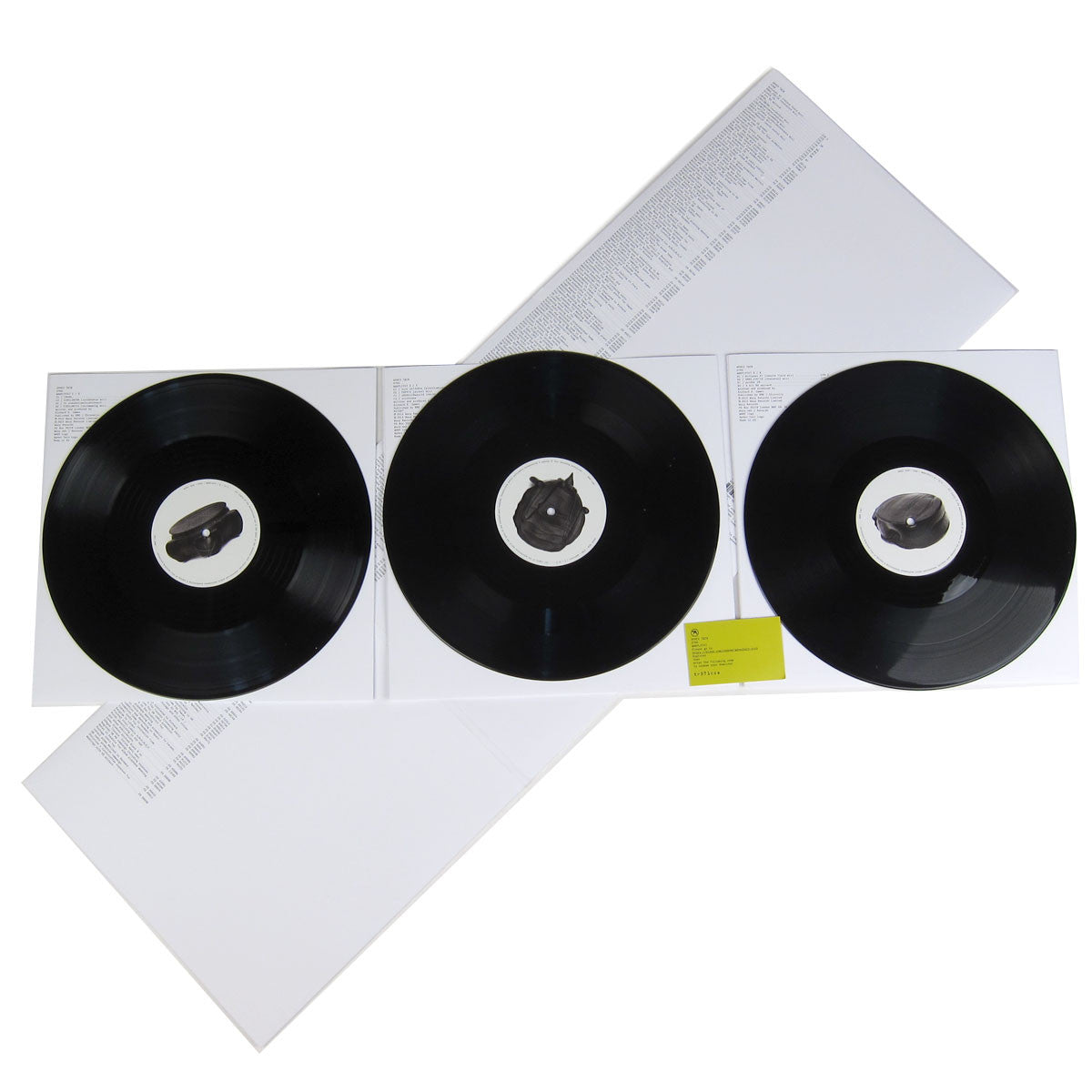 Aphex Twin: Syro (Free MP3) Vinyl 3LP detail