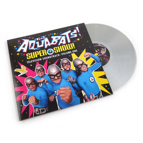 Aquabats: Supershow Soundtrack Vol.1 (Silver Colored Vinyl) Vinyl LP