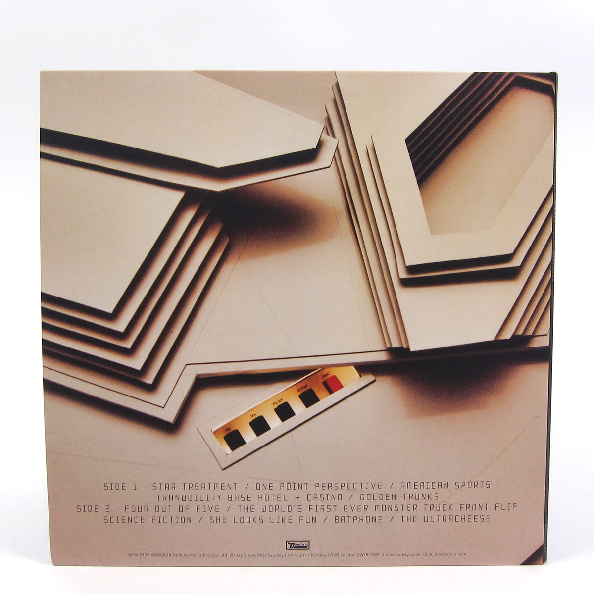 Arctic Monkeys: Tranquility Base Hotel + Casino (Indie Exclusive 180g, Colored Vinyl) Vinyl LP
