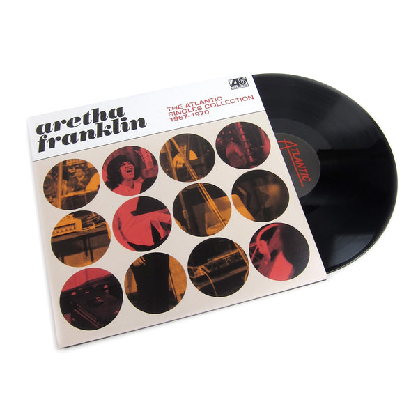 Aretha Franklin: The Atlantic Singles Collection 1967-70 Vinyl 2LP