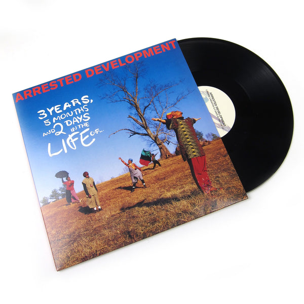 Arrested Development: 3 Years, 5 Months And 2 Days In The Life Of... Vinyl 2LP