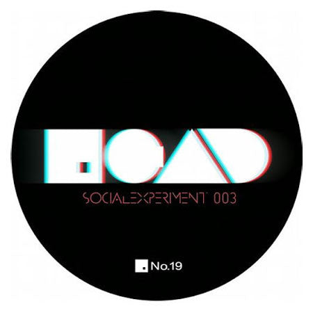 Art Department : Social Experiment 003 / Insomniac 12""