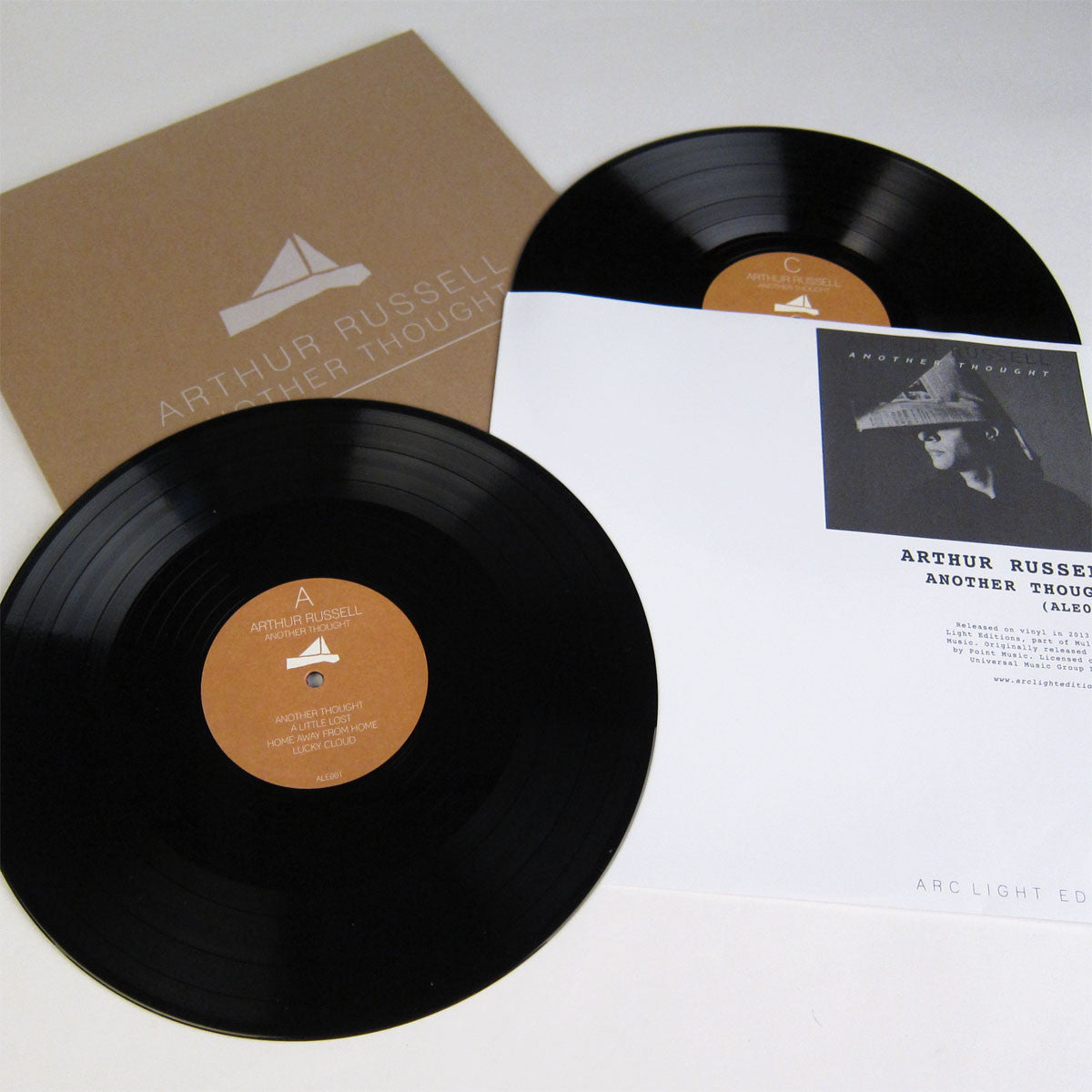 Arthur Russell: Another Thought 2LP detail