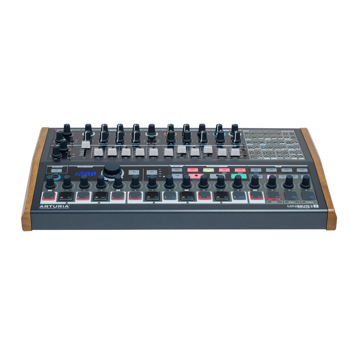arturia minibrute2s semi modular synthesizer sequencer. Black Bedroom Furniture Sets. Home Design Ideas