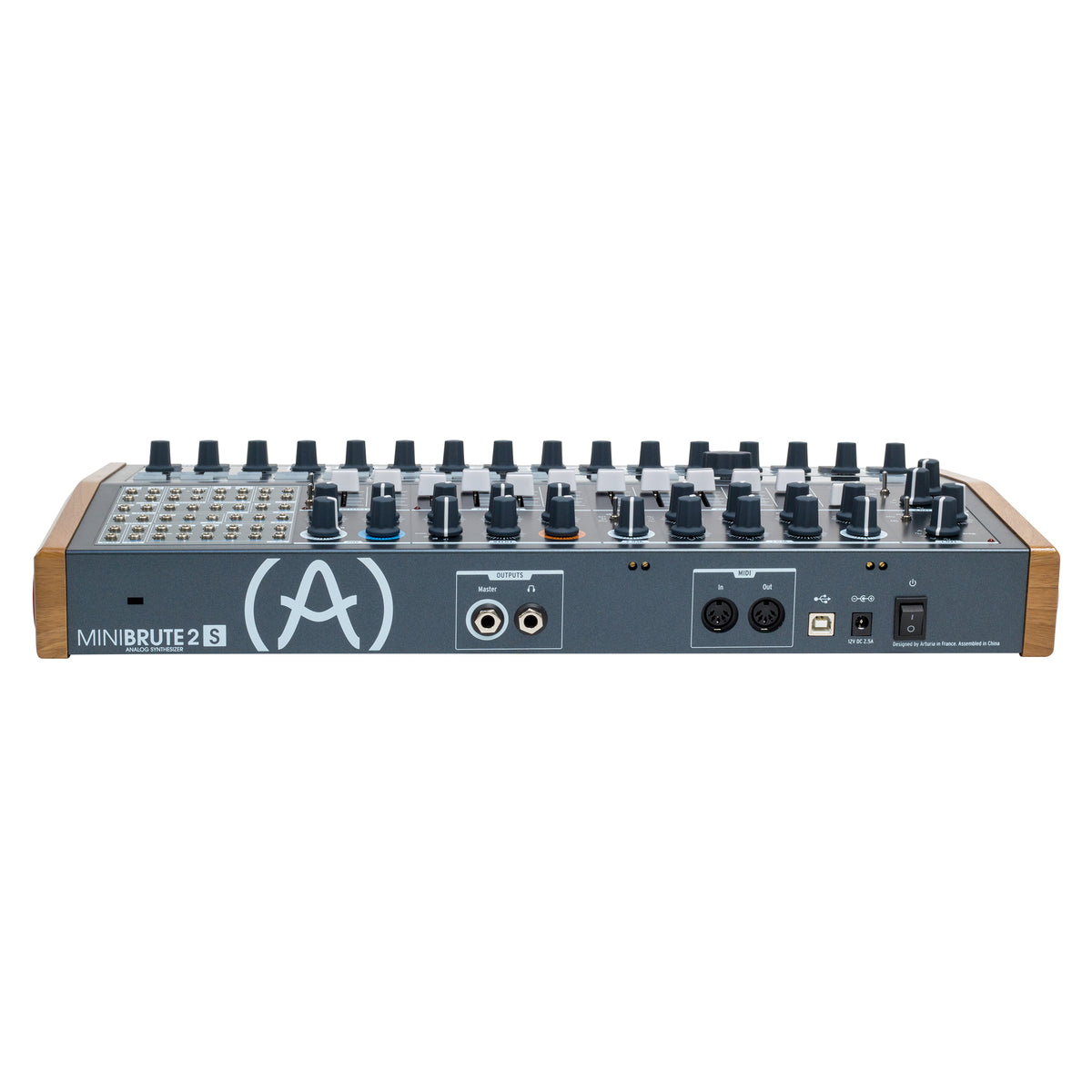 Arturia MiniBrute2S Semi-Modular Synthesizer/Sequencer