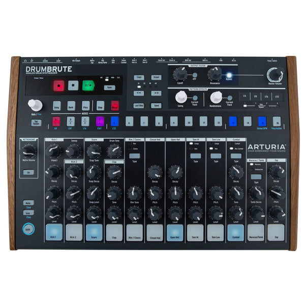 Arturia: Drumbrute Analog Drum Machine + Sequencer