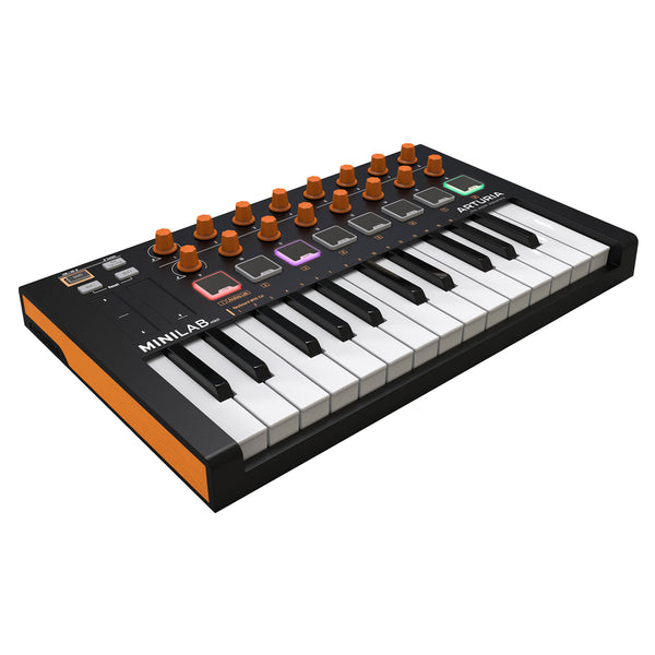 Arturia: MiniLab MKII 25 Key Controller - Orange Limited Edition