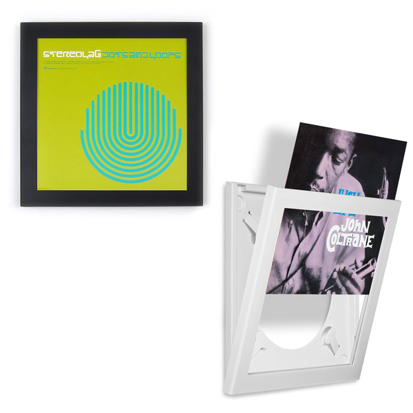 Art Vinyl: Play & Display Premium Vinyl Record Flip Frame - Single