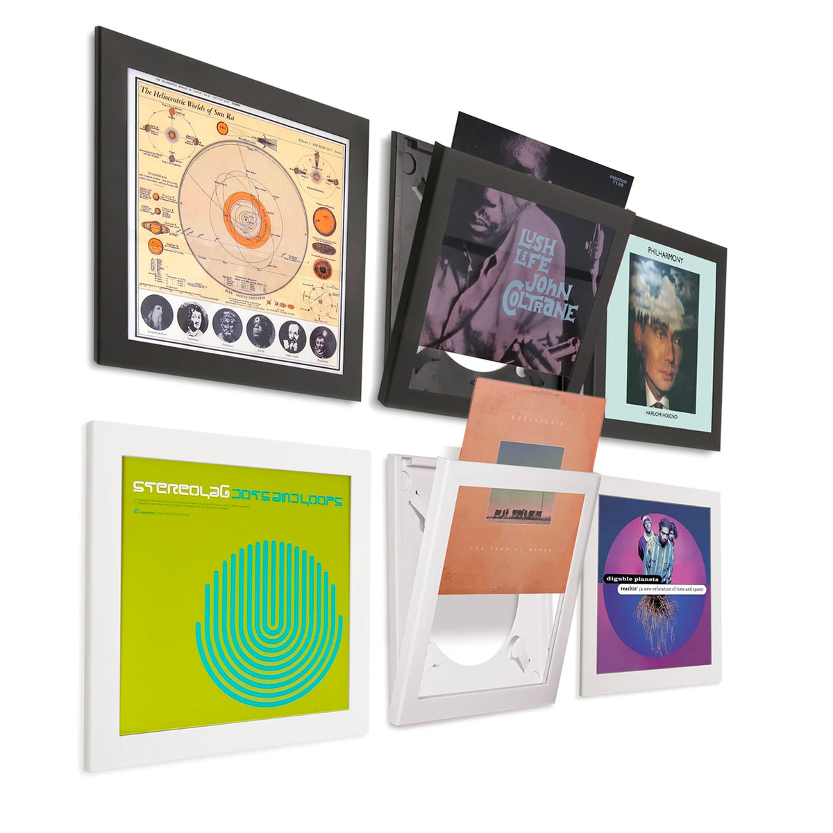 Art Vinyl Record Frame 3 Pack
