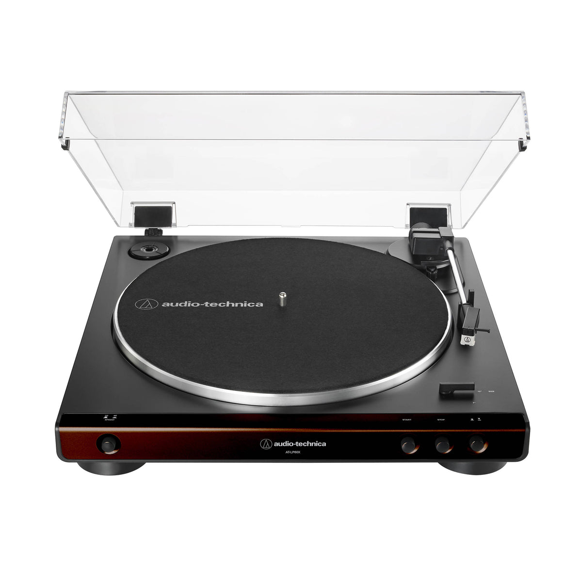 Audio Technica: AT-LP60X-BW Automatic Turntable - Brown / Black