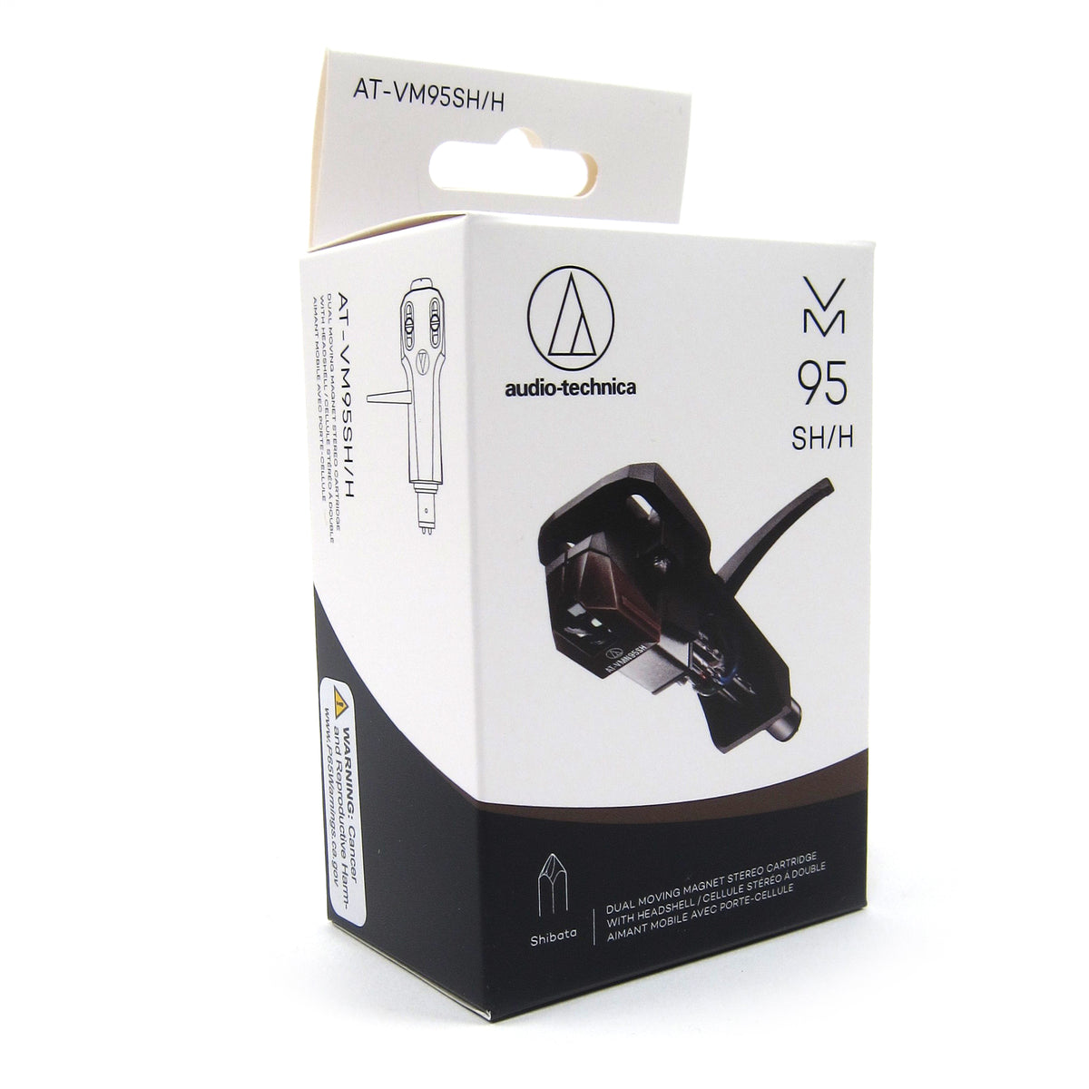 Audio-Technica: AT-VM95SH/H Cartridge & Headshell Combo