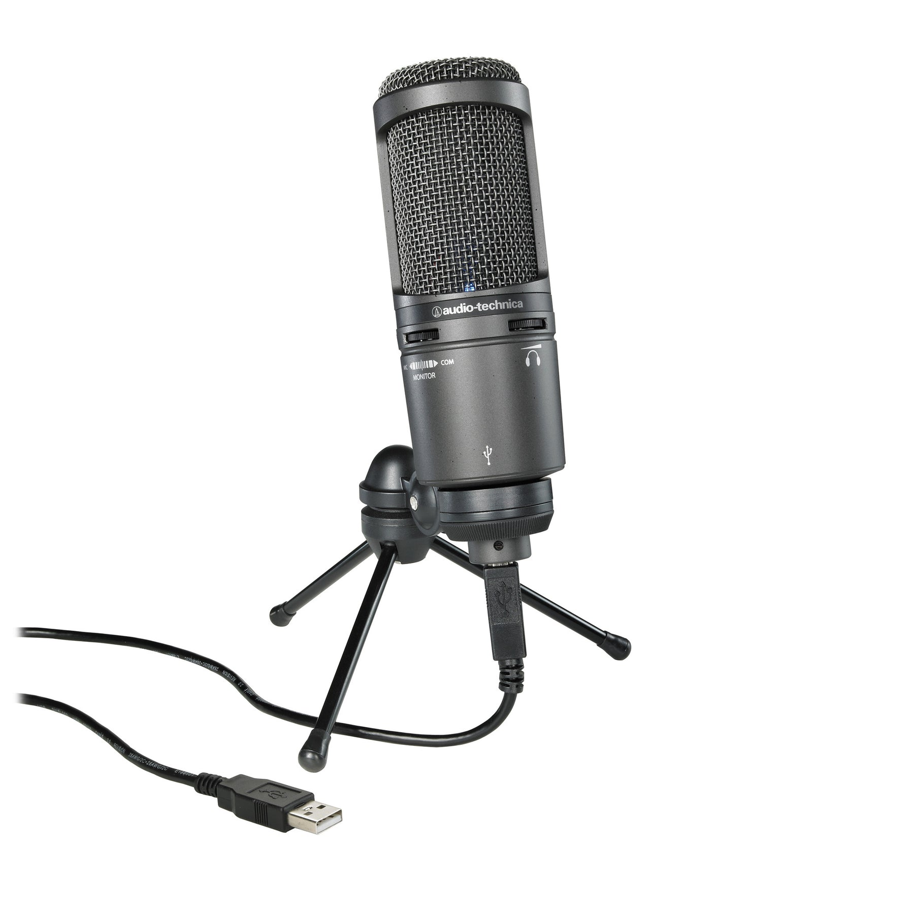audio technica at2020usb microphone with usb output. Black Bedroom Furniture Sets. Home Design Ideas