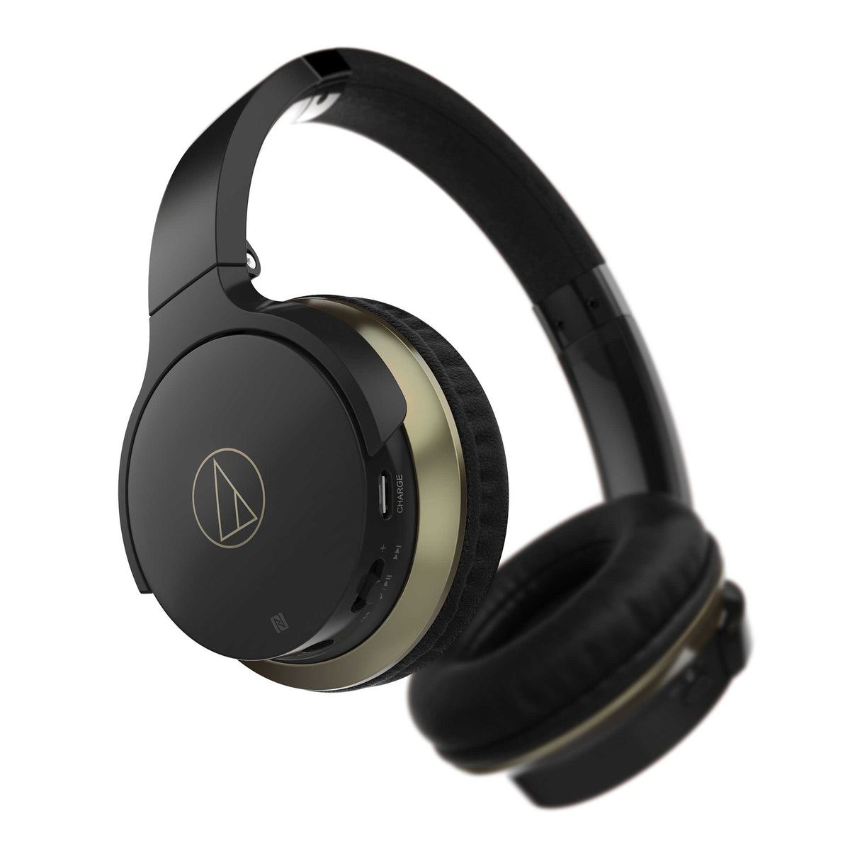 Audio-Technica: ATH-AR3BTBK SonicFuel Wireless Headphones w/Mic & Control - Black