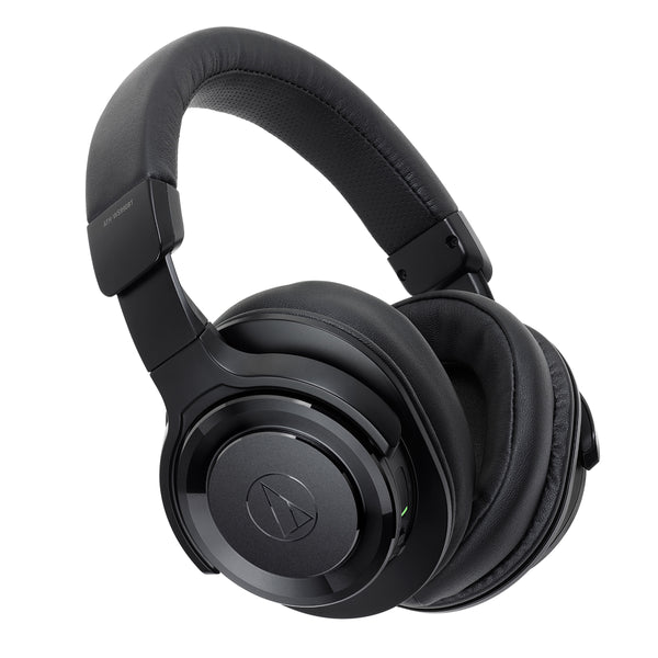 Audio-Technica: ATH-WS990BT Solid Bass Wireless Over-Ear Headphones With Built-in Mic & Control