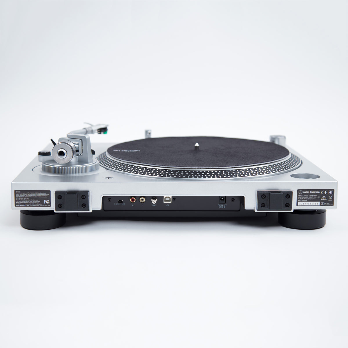 Audio Technica: AT-LP120XUSB-SV Direct Drive USB Turntable - Silver