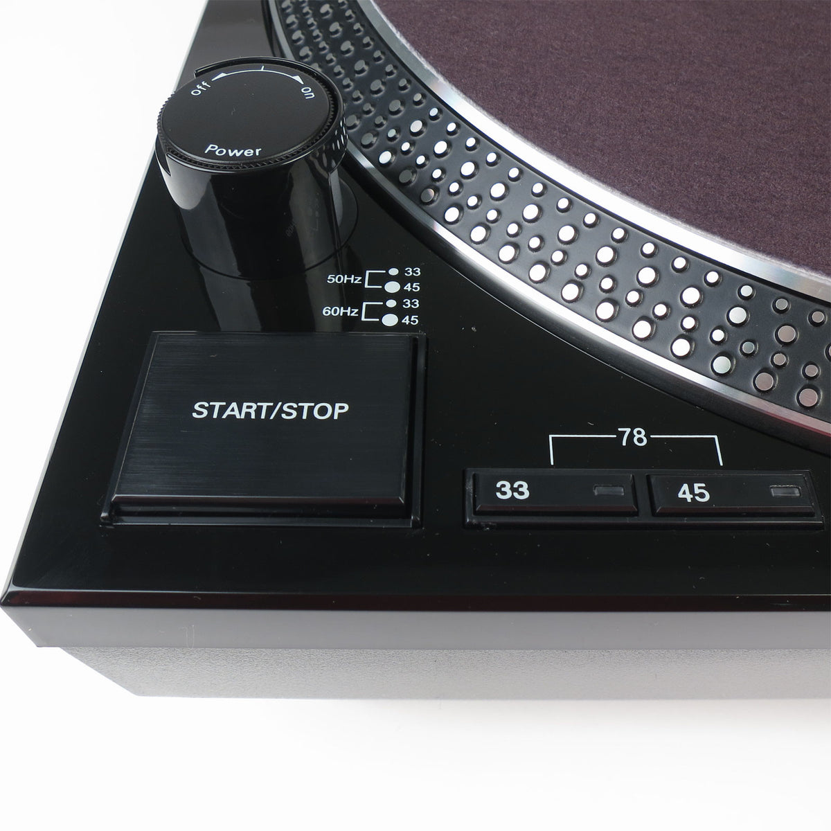 Audio-Technica: AT-LP120BK-USB Turntable - Black
