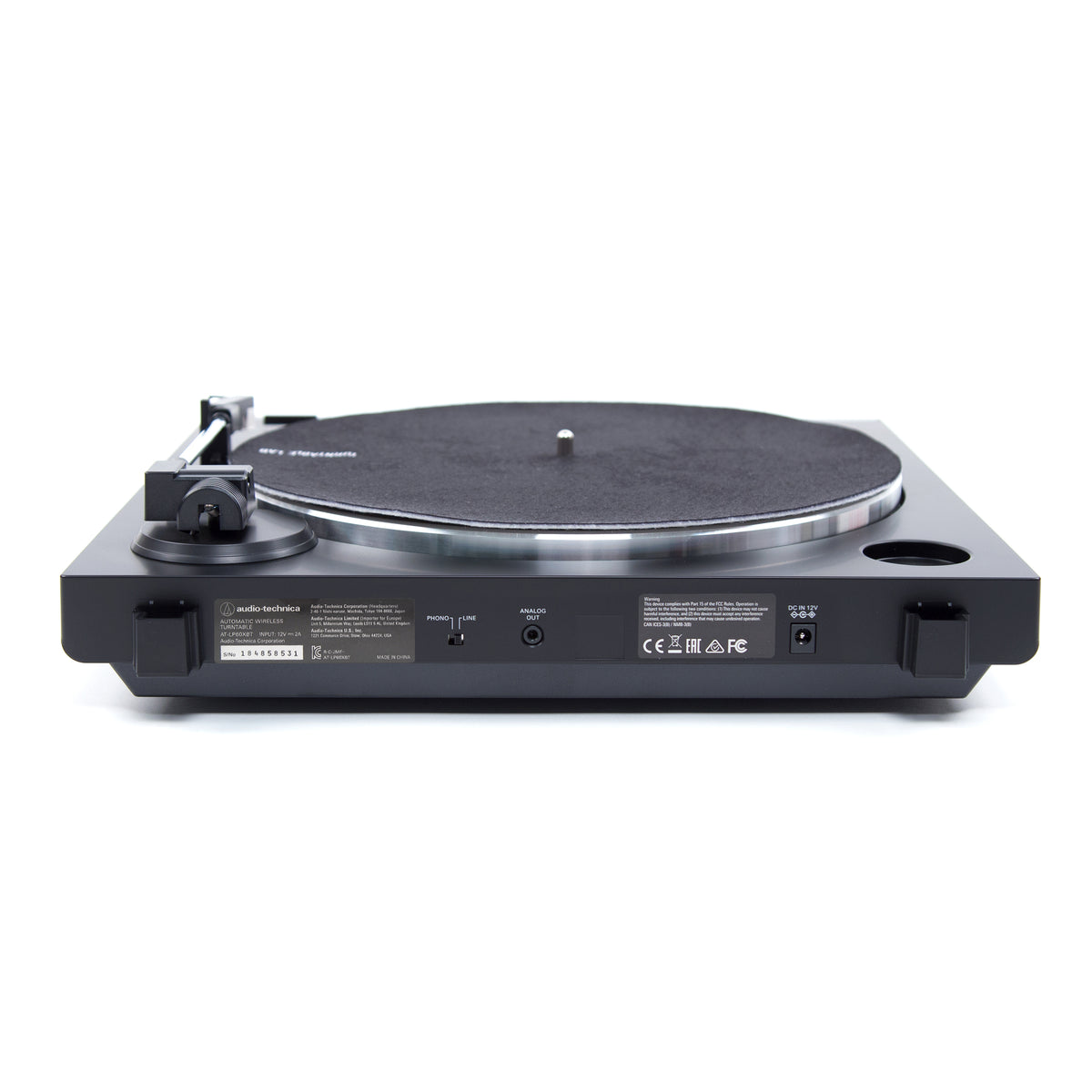 Audio Technica: AT-LP60XBT-RD Automatic Bluetooth Turntable - Red / Black