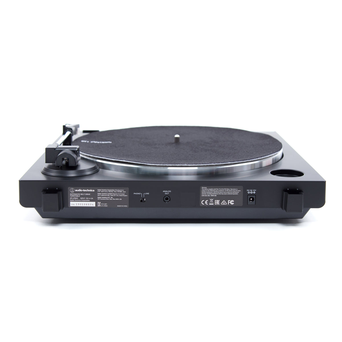 Audio Technica: AT-LP60X-RD Automatic Turntable - Red / Black