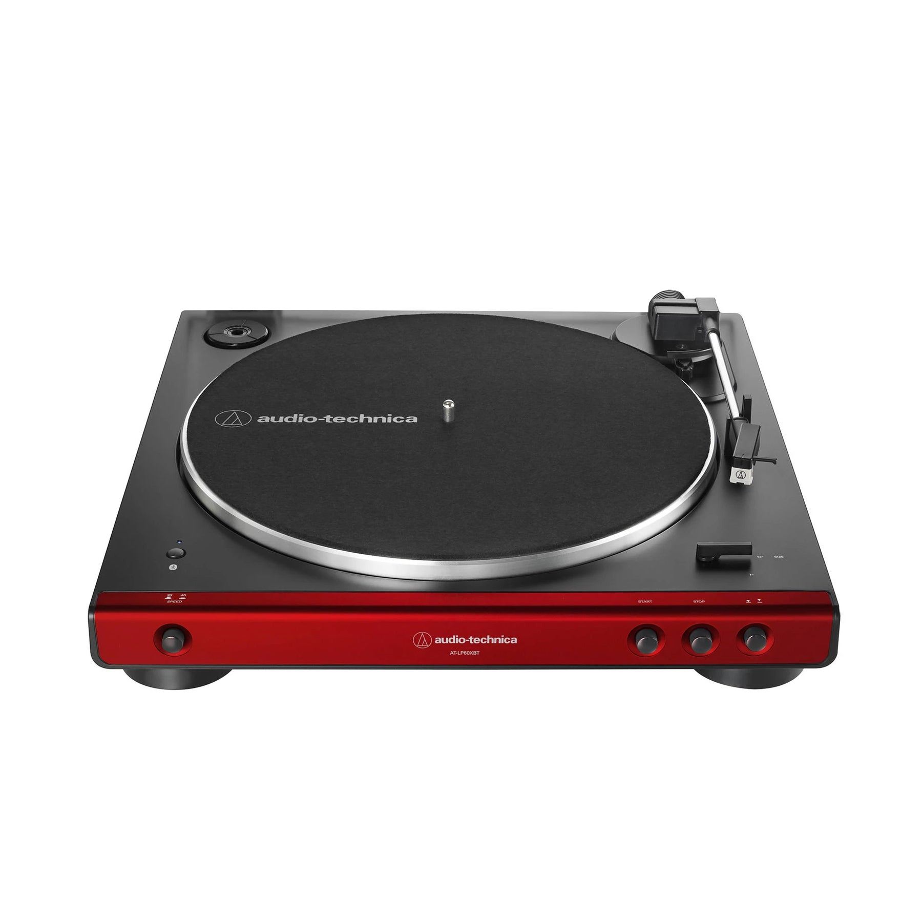 Whit Audio Technica AT-LP60XBT-WH Fully Automatic Wireless Belt-Drive Turntable