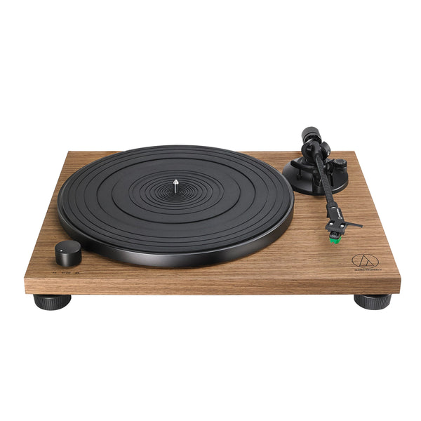 Audio Technica: AT-LPW40WN Manual Belt Drive Turntable - Walnut