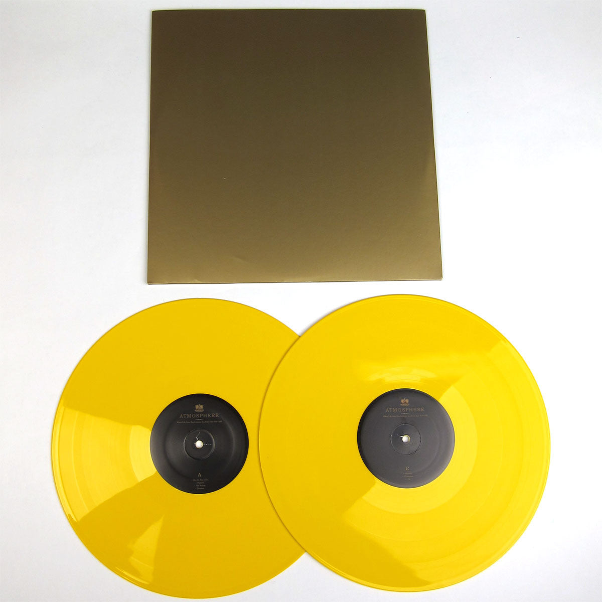 Atmosphere: When Life Gives You Lemons, You Paint That Shit Gold (Colored Vinyl) Vinyl 2LP detail