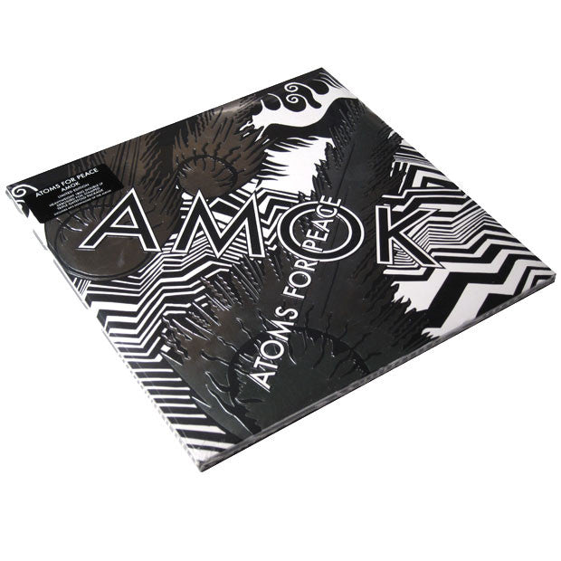 Atoms For Peace: AMOK Deluxe Edition (180g, Free MP3) 2LP