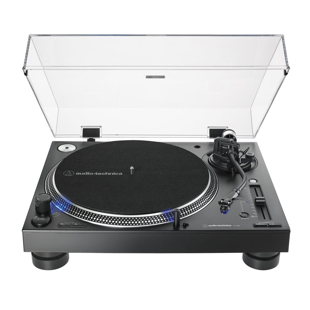 Audio Technica: AT-LP140XP-BK Direct Drive DJ Turntable - Black